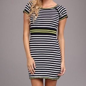 Yumi knitwear striped dress